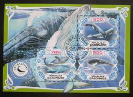 Poštovní známky Gabon 2019 Velryby Mi# N/N