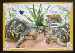 Poštovní známka Gabon 2019 Želvy Mi# N/N
