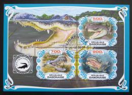 Poštovní známky Gabon 2019 Krokodýli Mi# N/N
