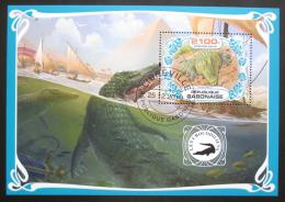 Poštovní známka Gabon 2019 Krokodýli Mi# N/N