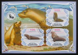 Poštovní známky Gabon 2019 Tuleni Mi# N/N
