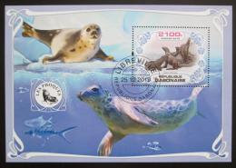 Poštovní známka Gabon 2019 Tuleni Mi# N/N