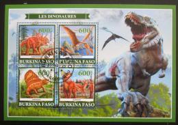 Poštovní známky Burkina Faso 2019 Dinosauøi Mi# N/N