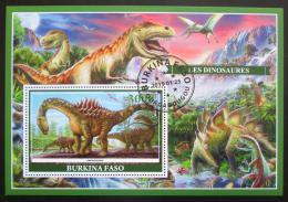Poštovní známka Burkina Faso 2019 Dinosauøi Mi# N/N