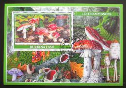 Poštovní známka Burkina Faso 2019 Houby Mi# N/N