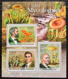 Poštovní známky SAR 2011 Houby a mykologové Mi# 3116-18 Kat 12€