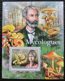 Poštovní známka SAR 2011 Houby a mykologové Mi# Block 737 Kat 11€