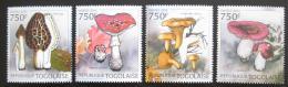 Poštovní známky Togo 2012 Houby Mi# 4403-06 Kat 12€