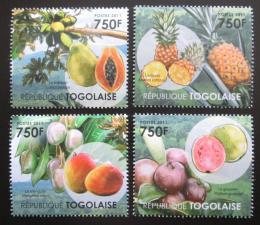 Poštovní známky Togo 2011 Ovoce Mi# 4112-15 Kat 12€