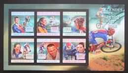 Poštovní známky Guinea 2012 Cyklistika Mi# 9615-20 Kat 18€