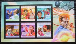 Poštovní známky Guinea 2012 Tenis, stolní tenis a badminton Mi# 9621-26 Kat 18€