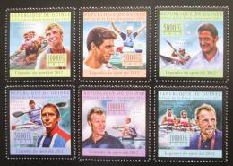 Poštovní známky Guinea 2012 Veslování Mi# 9609-14 Kat 18€