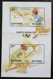 Poštovní známka Bulharsko 1990 LOH Barcelona Mi# Block 211 A