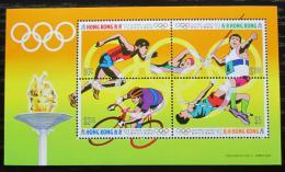 Poštovní známky Hongkong 1992 LOH Barcelona Mi# Block 21 Kat 10€
