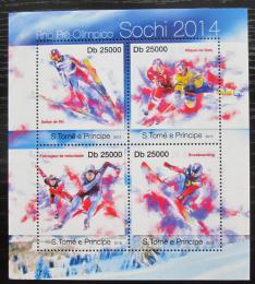Poštovní známky Svatý Tomáš 2013 ZOH Soèi Mi# 5056-59 Kat 10€