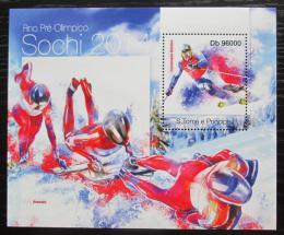 Poštovní známka Svatý Tomáš 2013 ZOH Soèi Mi# Block 871 Kat 10€