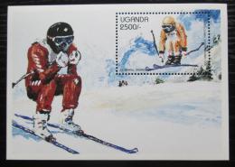 Poštovní známka Uganda 1997 ZOH Nagano, sjezd Mi# Block 281