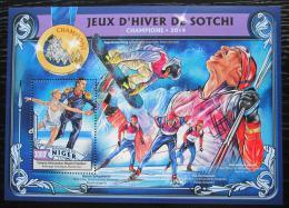 Poštovní známka Niger 2016 ZOH Soèi Mi# Block 571 Kat 12€