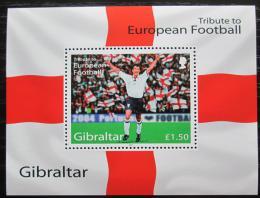 Poštovní známka Gibraltar 2004 ME ve fotbale Mi# Block 60