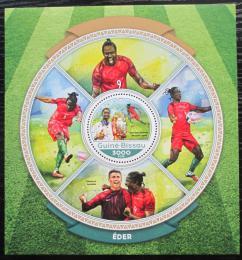 Poštovní známka Guinea-Bissau 2016 Éder, fotbalista Mi# Block 1529 Kat 11€