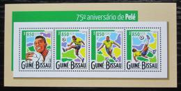 Poštovní známky Guinea-Bissau 2015 Pelé, fotbalista Mi# 7876-79 Kat 14€