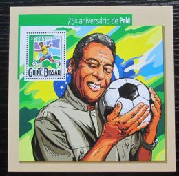 Poštovní známka Guinea-Bissau 2015 Pelé, fotbalista Mi# Block 1371 Kat 11€