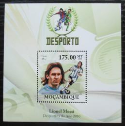Poštovní známka Mosambik 2010 Lionel Messi, fotbalista Mi# N/N Kat 10€