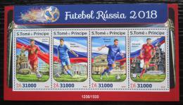 Poštovní známky Svatý Tomáš 2016 MS ve fotbale Mi# 6906-09 Kat 12€