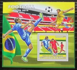 Poštovní známka Guinea 2013 MS ve fotbale Mi# Block 2329 Kat 16€