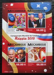 Poštovní známky Mosambik 2015 MS ve fotbale Mi# 8279-82 Kat 15€
