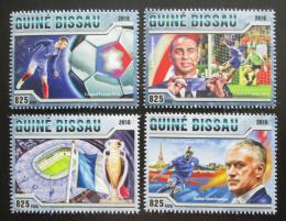 Poštovní známky Guinea-Bissau 2016 ME ve fotbale Mi# 8776-79 Kat 12.50€