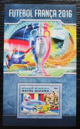 Poštovní známka Guinea-Bissau 2016 ME ve fotbale Mi# Block 1518 Kat 12.50€