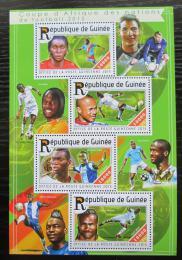 Poštovní známky Guinea 2015 Africký pohár ve fotbale Mi# 11133-36 Kat 16€