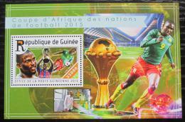 Poštovní známka Guinea 2015 Africký pohár ve fotbale Mi# Block 2523 Kat 14€