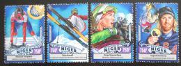 Poštovní známky Niger 2016 ZOH Soèi Mi# 4332-35 Kat 12€