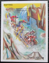 Poštovní známka Somálsko 2000 Rafting Mi# Block 72 Kat 15€