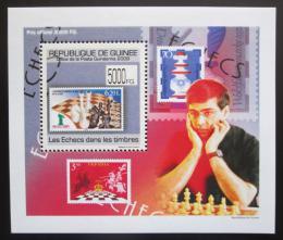 Poštovní známka Guinea 2009 Šachy DELUXE Mi# 7089 Block
