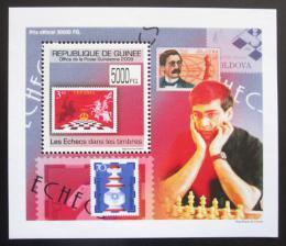 Poštovní známka Guinea 2009 Šachy DELUXE Mi# 7090 Block