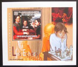 Poštovní známka Guinea 2010 Dìti a šachy DELUXE Mi# 7459 Block