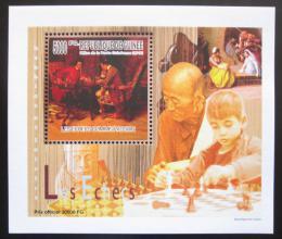 Poštovní známka Guinea 2010 Dìti a šachy DELUXE Mi# 7460 Block