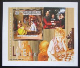 Poštovní známka Guinea 2010 Dìti a šachy DELUXE Mi# 7462 Block