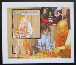 Poštovní známka Guinea 2010 Dìti a šachy DELUXE Mi# 7464 Block