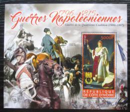 Poštovní známka Pobøeží Slonoviny 2016 Napoleon, Napoleonské války Mi# N/N