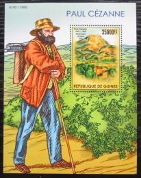 Poštovní známka Guinea 2015 Umìní, Paul Cézanne Mi# Block 2557 Kat 14€