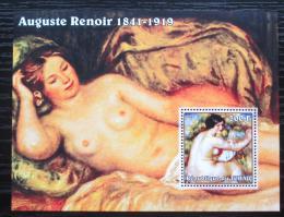 Poštovní známka Èad 2002 Umìní, Pierre-Auguste Renoir Mi# Block 350 Kat 7€