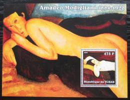 Poštovní známka Èad 2002 Umìní, Amadeo Modigliani Mi# Block 349 Kat 7€