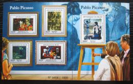 Poštovní známky Niger 2015 Umìní, Pablo Picasso Mi# 3727-31 Kat 24€