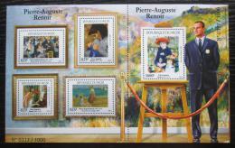 Poštovní známky Niger 2015 Umìní, Renoir Mi# 3702-06 Kat 24€