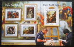 Poštovní známky Niger 2015 Umìní, Rubens Mi# 3697-3701 Kat 24€