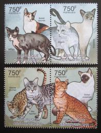 Poštovní známky SAR 2012 Domácí koèky Mi# 3642-45 Kat 14€